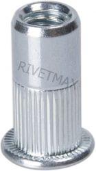 Заклепка резьбовая с плоским бортом М8 L21,0