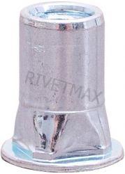 Заклепка резьбовая квадратная с плоским бортом М6 L15,2