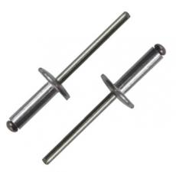 Заклепка вытяжная AL/ST 4,8X25X16 с широким бортом